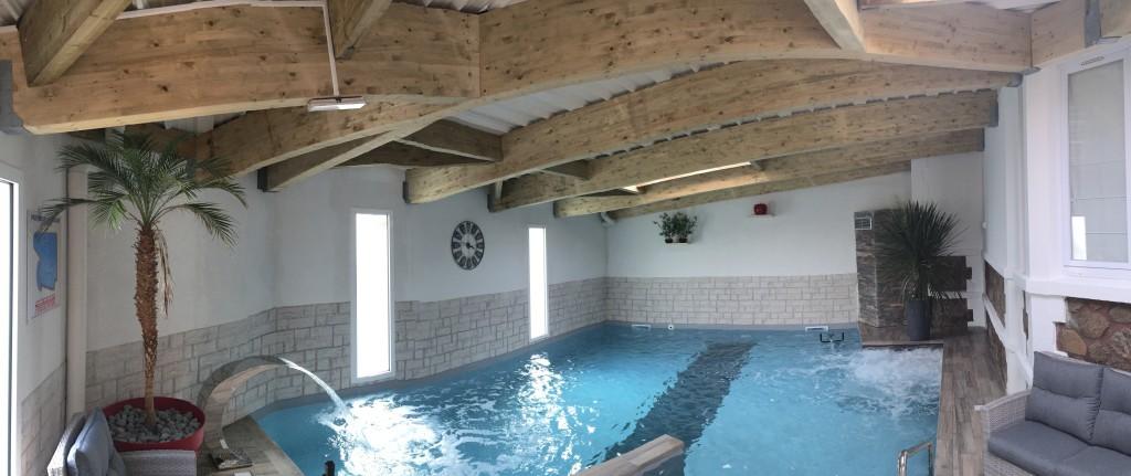 Hôtel avec piscine intérieure chauffée aux Sables d'Olonne