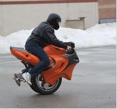 moto 1 roue