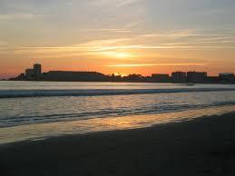 coucher de soleil  sables d olonne