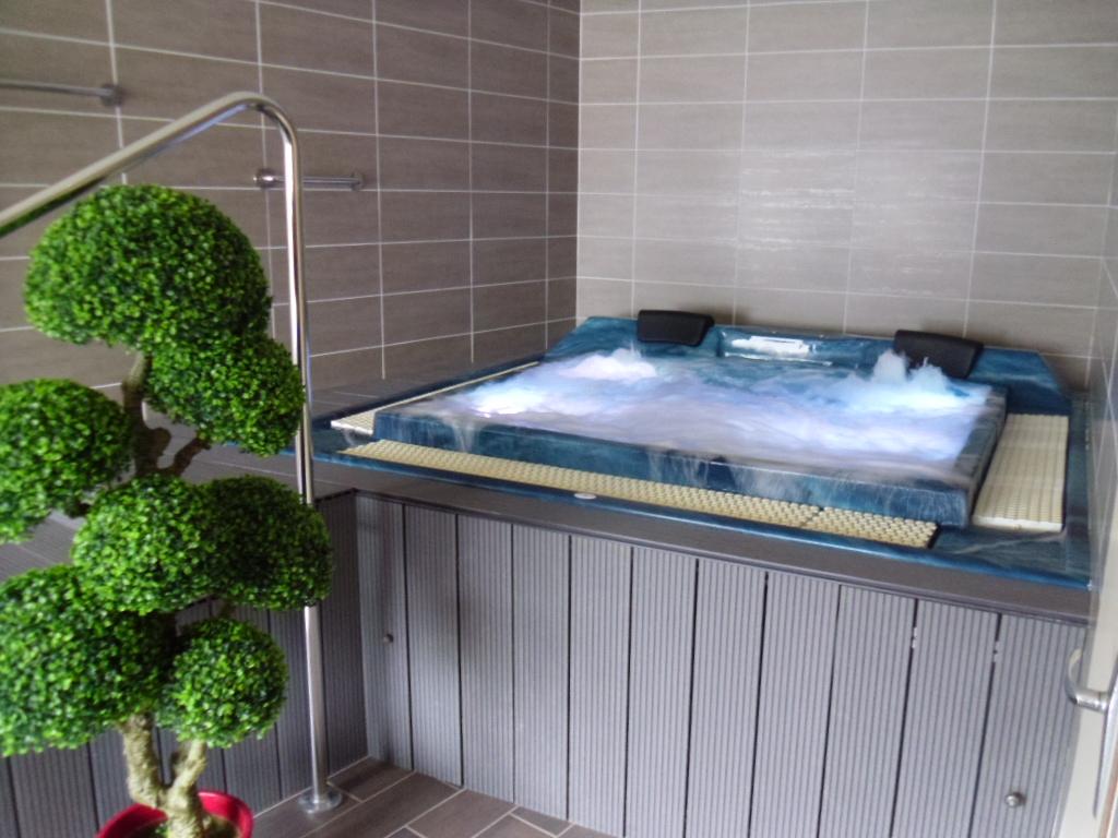 spa sauna jacuzzi