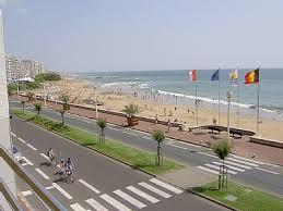 La plage des Sables d'Olonne où vous passerez de bons moments au soleil