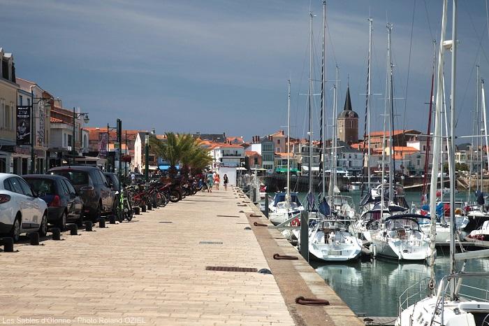 Port des Sables d'Olonne proche de l'hôtel 3 étoiles