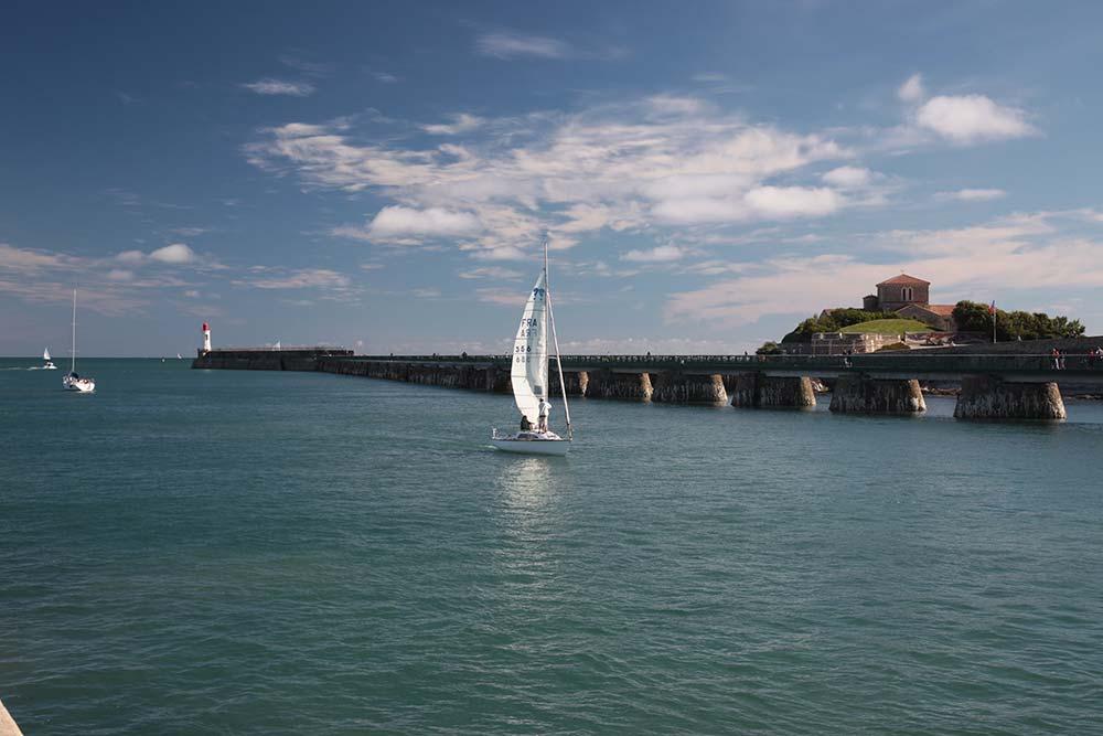 entrée port Les Sables d'Olonne