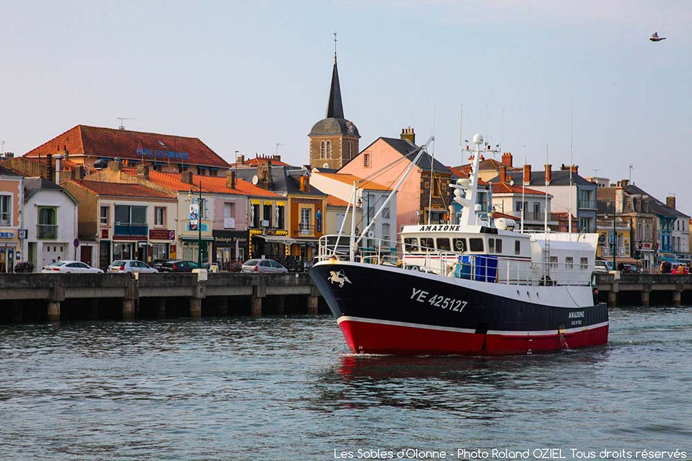 Le port de pêche aux Sables d'Olonne