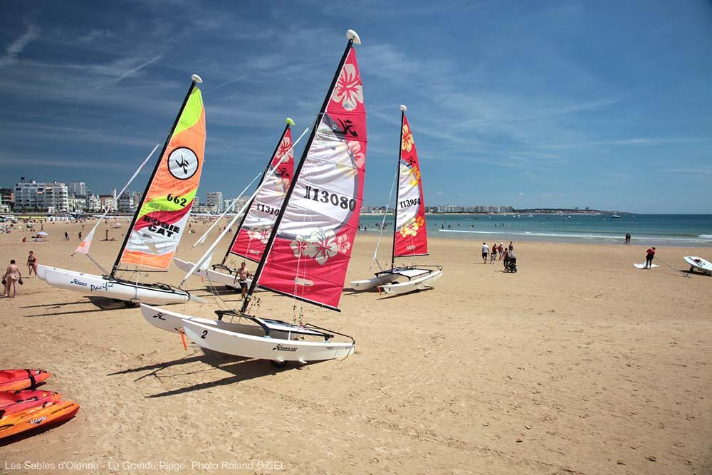 grande plage Les Sables d'Olonne