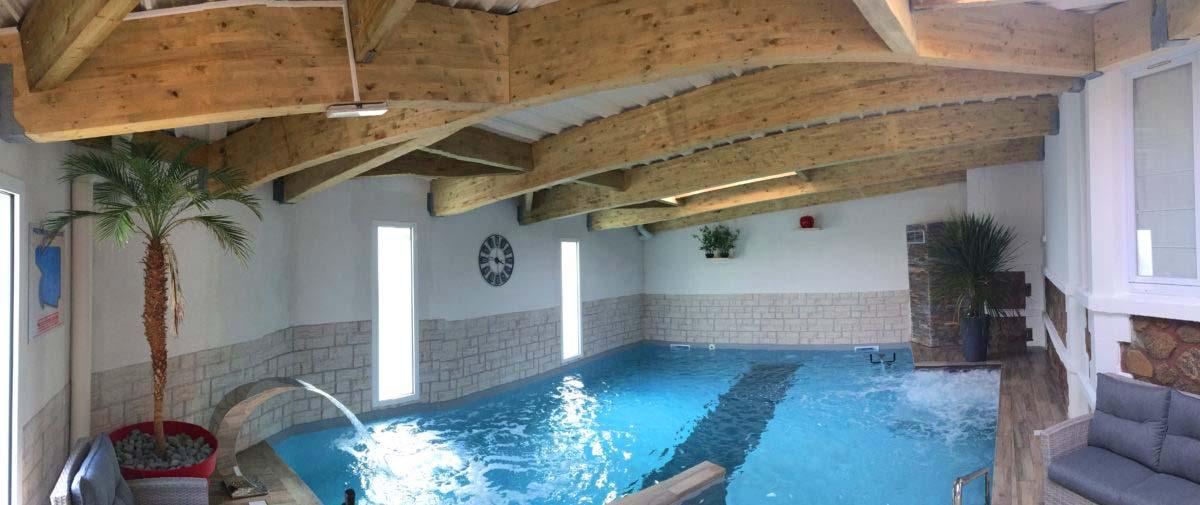 piscine hotel Calme des Pins Les Sables d'Olonne