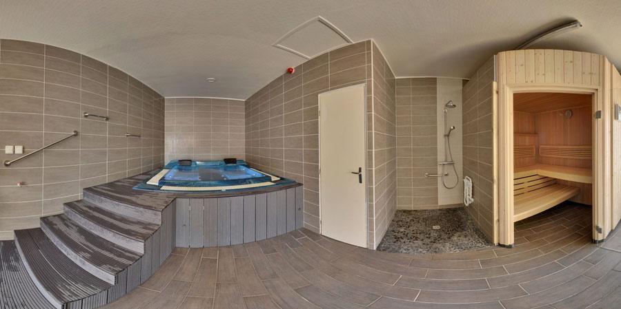 le spa et le sauna