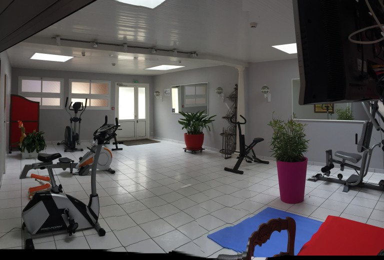 espace fitness aux Sables d'Olonne