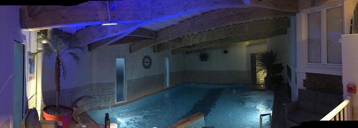 espace aquatique de l'hotel