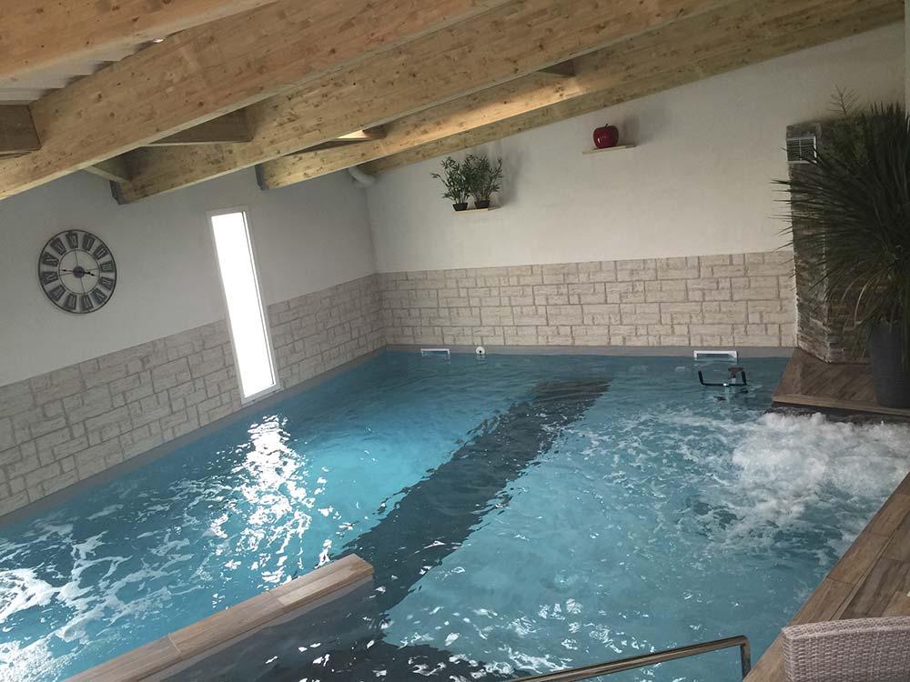 piscine de l'hotel aux Sables d'Olonne