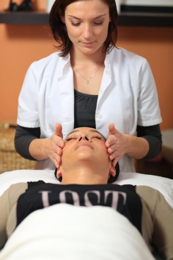 massage à l'hôtel
